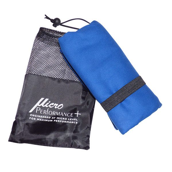 Blue Towel with Package