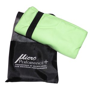 Green Towel with Package