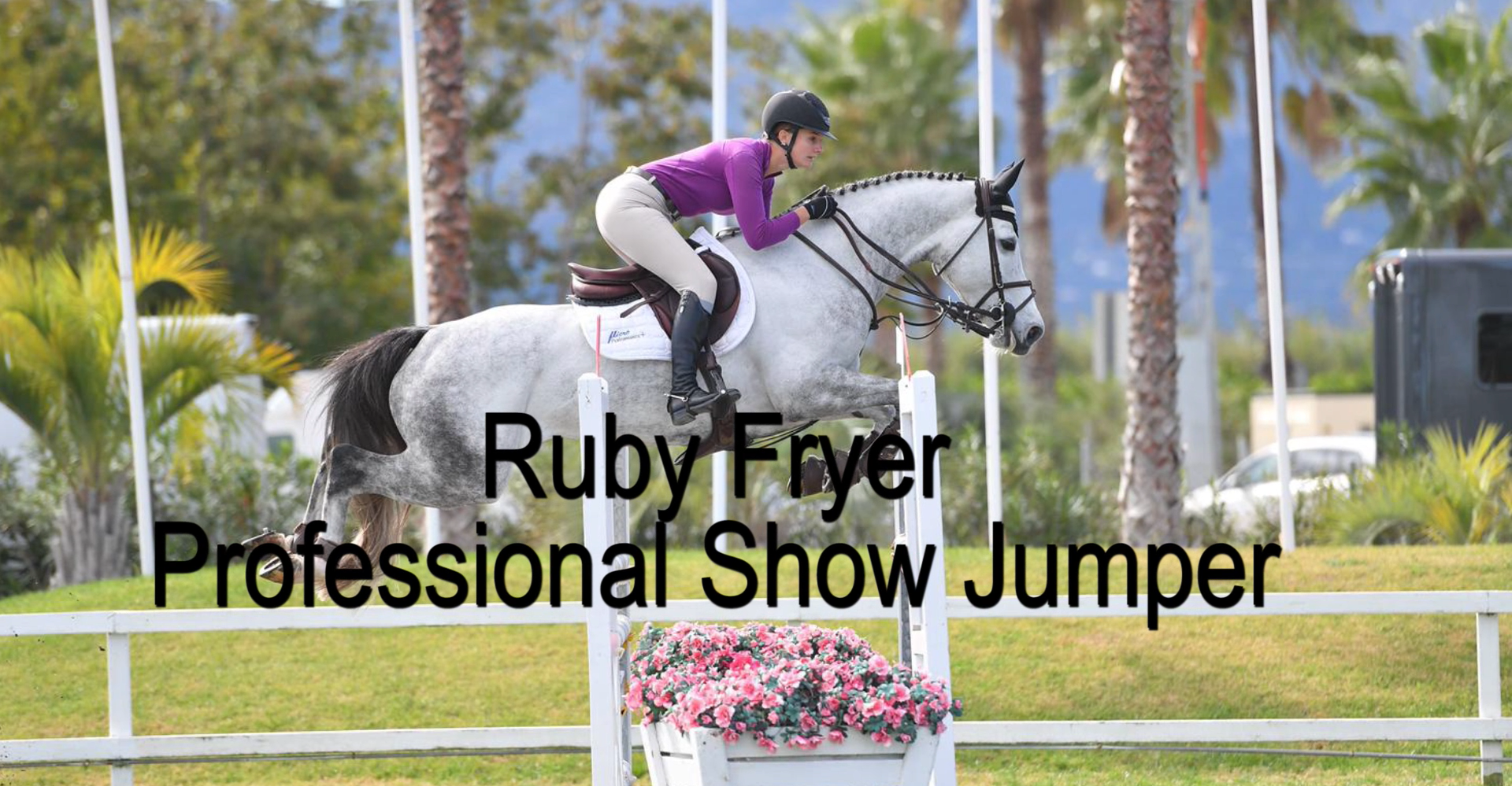 Professional Show Jumper Ruby Fryer