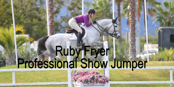 Chat with Show Jumper, Ruby Fryer