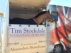 show jumping legend Tim Stockdale