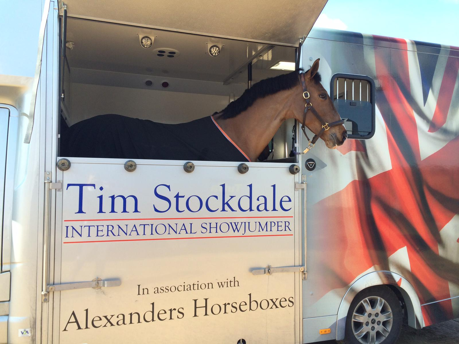 show jumping legend Tim Stockdale