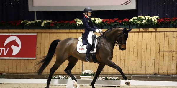 Junior Great Britain Dressage team member, Jessica McConkey is a new MP+ Brand advocate