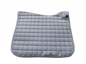 White MicroPerformance ProSport Dressage saddle cloths