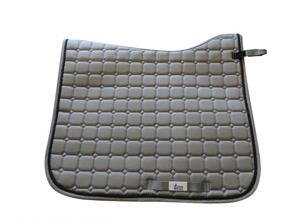 Grey MicroPerformance ProSport Dressage saddle cloths