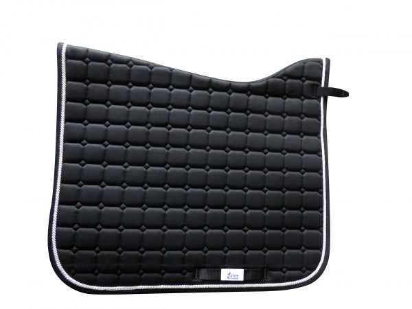 Black MicroPerformance ProSport Dressage saddle Cloth