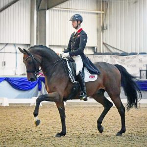 Team GB Dressage Rider